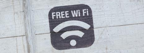 Foto con scritta Wi Fi Free